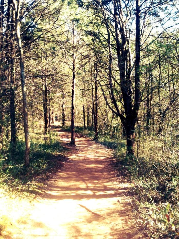 Doe Run Lake Perimeter Trail.