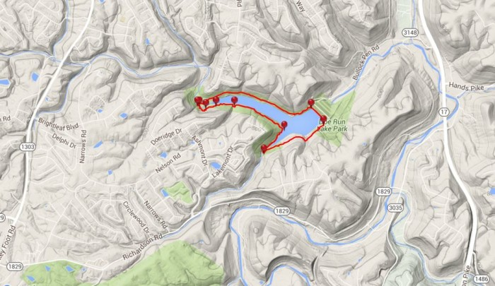 10. Doe Run Lake Perimeter Trail