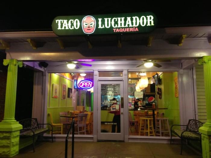 2. El Taco Luchador at 938 Baxter in Louisville