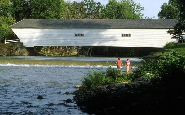 5) Elizabethton Covered Bridge