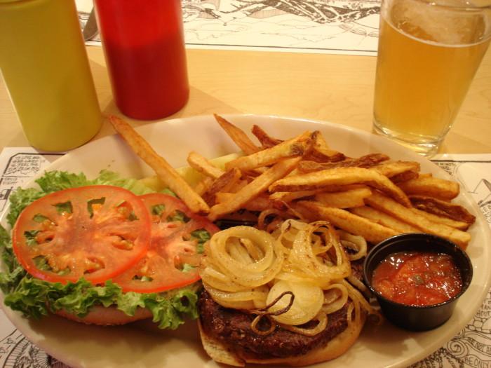 10. Elk Burgers and Bison Burgers