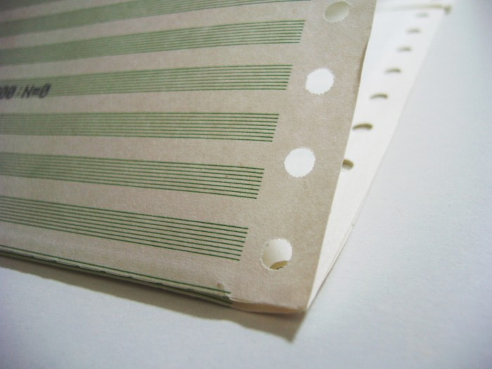 15. The feeling of satisfaction you got from peeling the edges off of dot matrix paper.