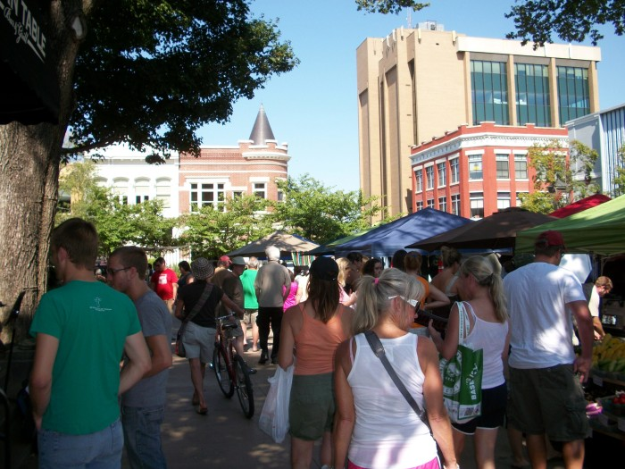 2. Fayetteville Town Square, 2011