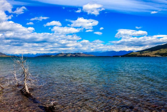 10. Flathead Lake