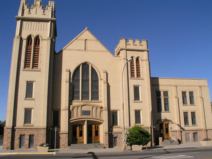 7. First Presbyterian Church, Miles City