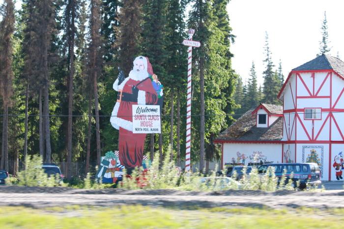 10. Christmas: Alaska has the North Pole, Santa's workshop and tons of live reindeer. Winning!