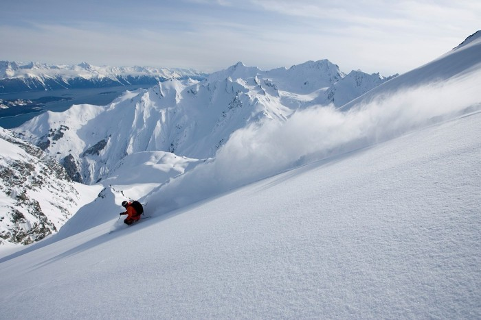 """8. Back-Country Skiing: """"Shred the pow"""" like no one's business."""