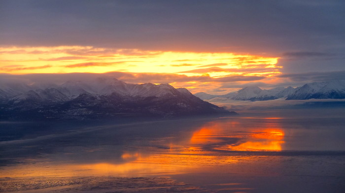 12. Coastal Living: Alaska is the only state to have coastlines on three different seas - the Arctic Ocean, Pacific Ocean and Bering Sea.
