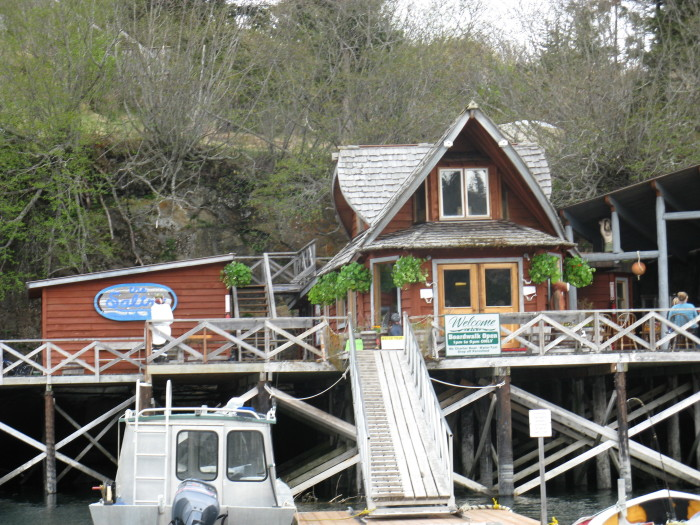 9. The Saltry Restaurant (Halibut Cove)