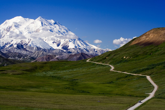 9. Mountains: Of the 20 highest peaks in the United States, 17 are in Alaska.