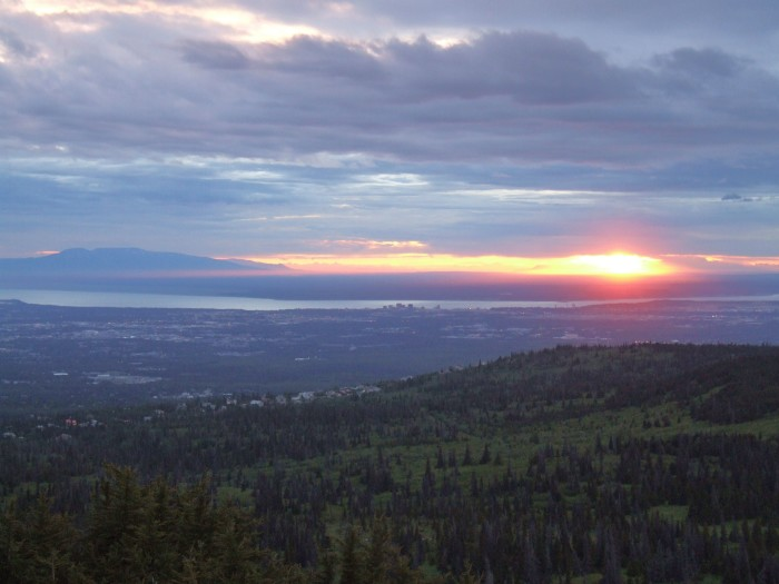 """7. Summer Solstice: I mean, c'mon – Alaska is known for being """"the land of the midnight sun."""""""