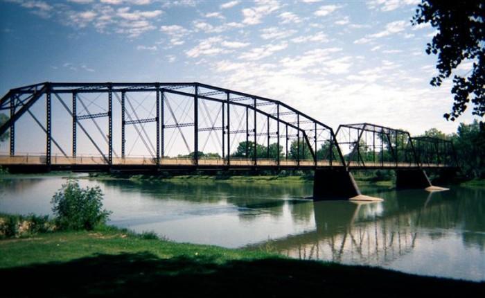 6. The Fort Benton Bridge