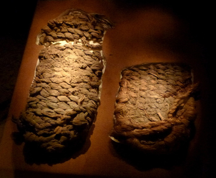 7. In 1938, about 70 pairs of 10,000 year old sandals were found in a cave in central Oregon. It took 70 years for researchers to realize they had found the oldest shoes in the world!