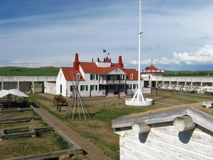 2. Fort Union Trading Post - Williston