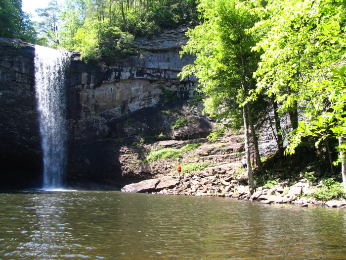 7) Foster Falls - Marion County