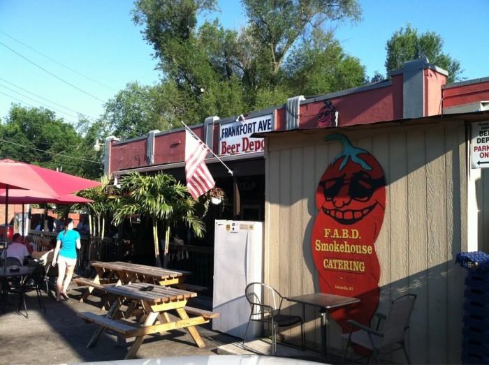 9. Frankfort Avenue Beer Depot at 3204 Frankfort Avenue in Louisville