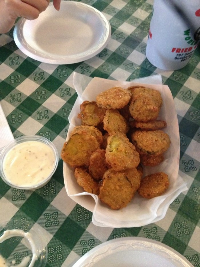 7. Fried Pickles at Gus's in Memphis