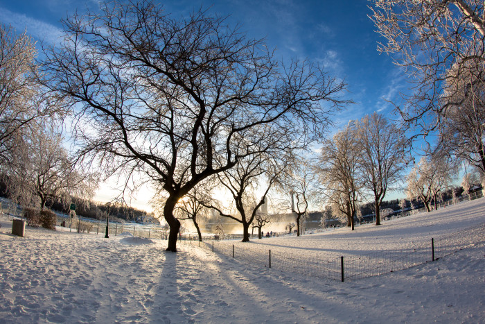6. Don't let the mass amounts of snow and frigid temperatures scare you off, our cold weather months are beautifully picturesque!