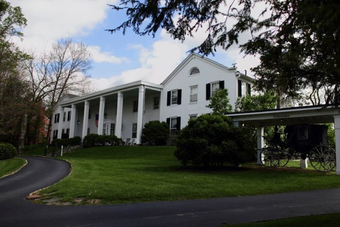 2. Spend the night at the historic General Lewis Inn.