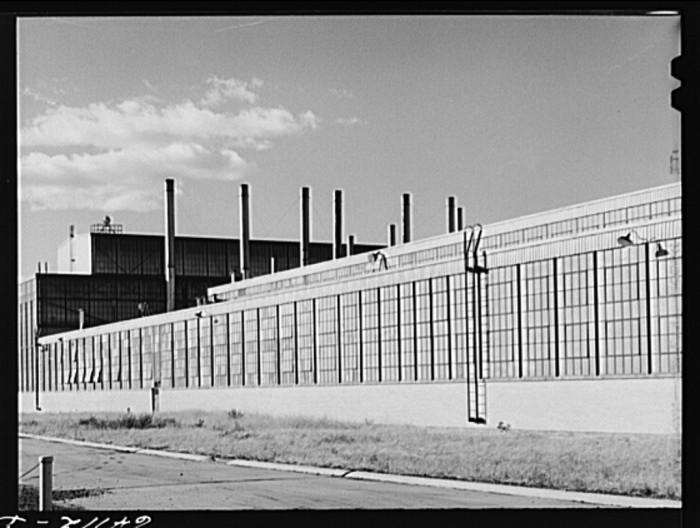 1. The General Motors plant in Trenton circa 1941.