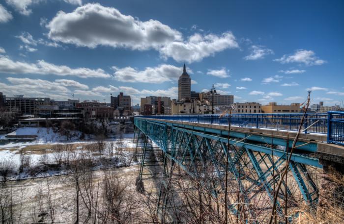 2. Genesee Pedestrian Bridge, Rochester