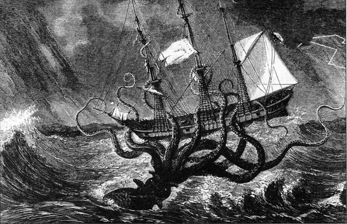 1. Stormalong and the Giant Octopus