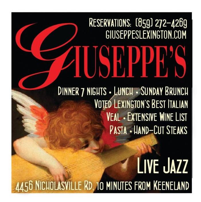 5. Giuseppe's Ristorante Italiano at 4456 Nicholasville Road in Lexington