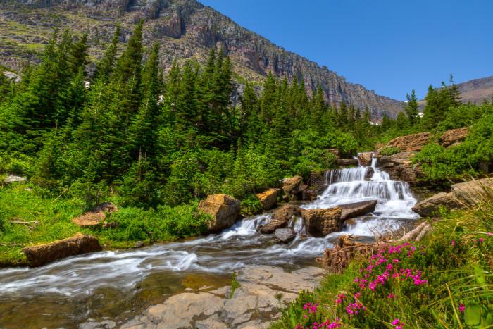 17. Lunch Creek, Glacier