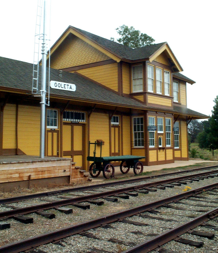 6. South Coast Railroad Museum in Goleta