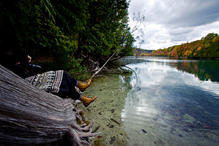 4. Green Lakes State Park, Fayetteville