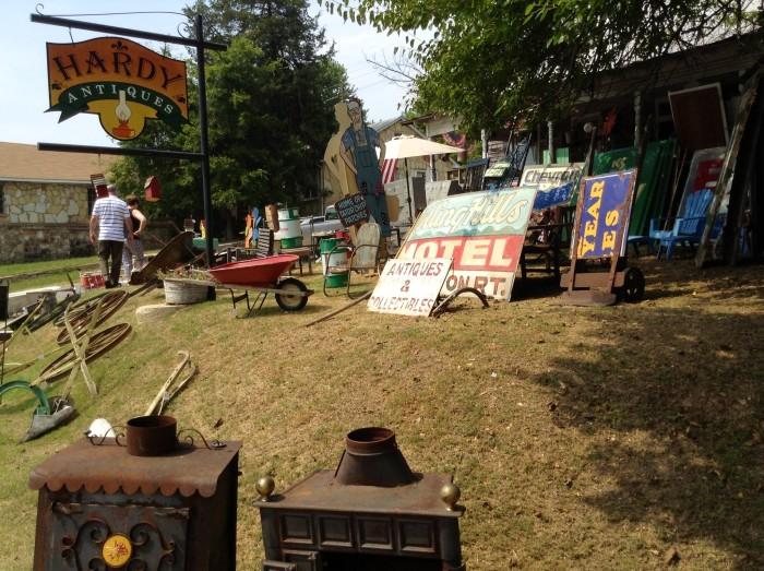 2.Craft fairs, antique stores, junk sales, and flea markets.