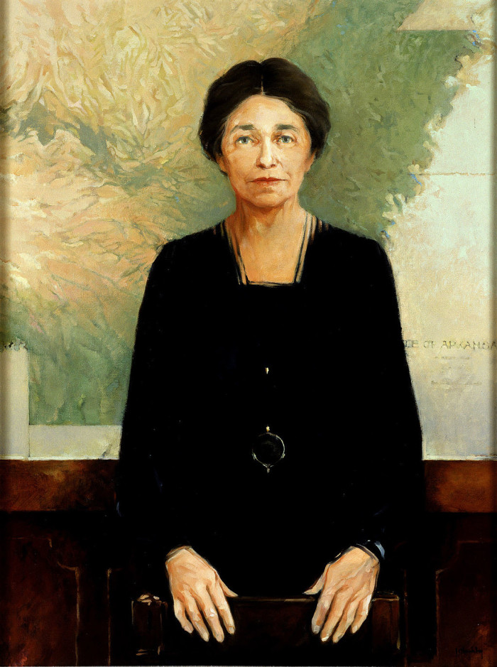 4. Hattie Caraway was the first woman who served a full term in the U.S. Senate.