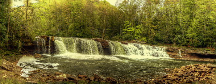 9. High Falls on the Cheat River.