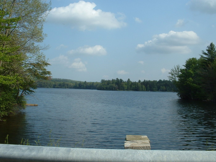 6. Lake Ashmere in Hinsdale is a great option for those looking to get away for a while.