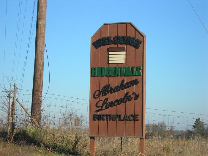 10. Hodgenville