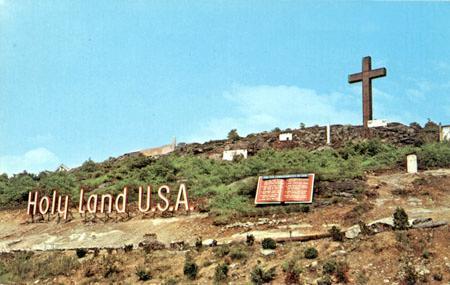 Holy Land USA, Waterbury, opened in 1956.