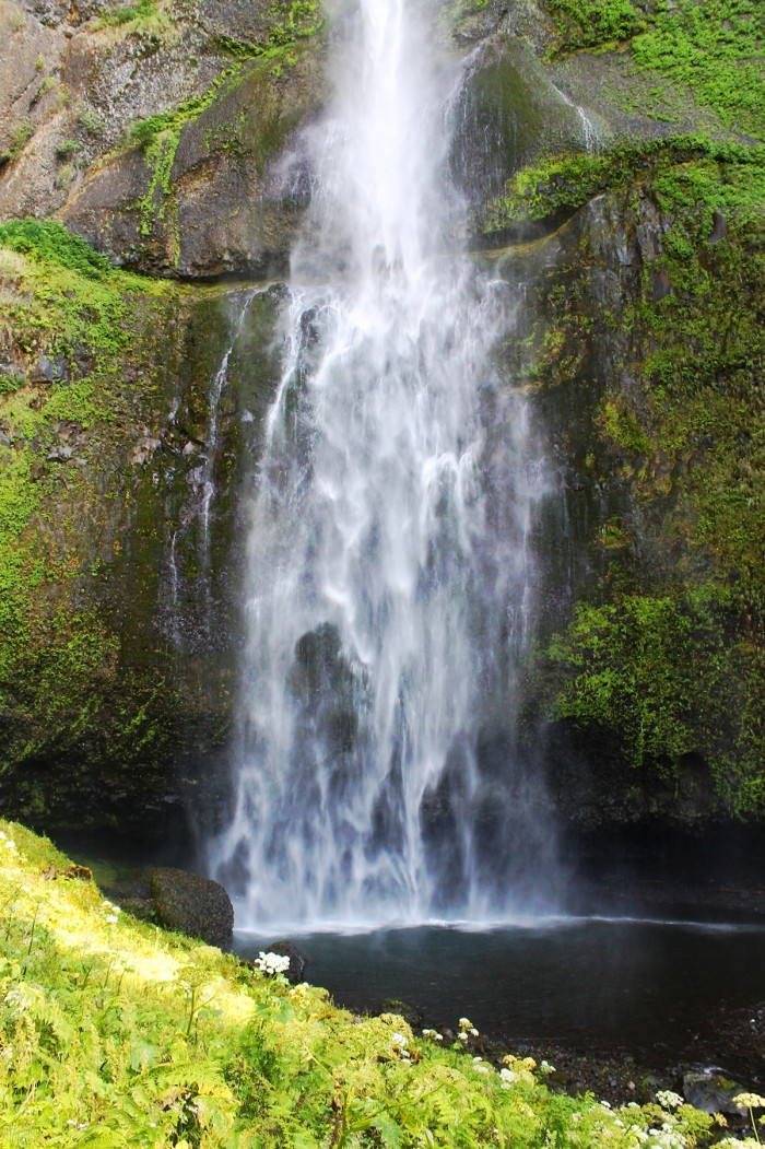 Hidden Waterfalls In Northern California - California waterfalls map