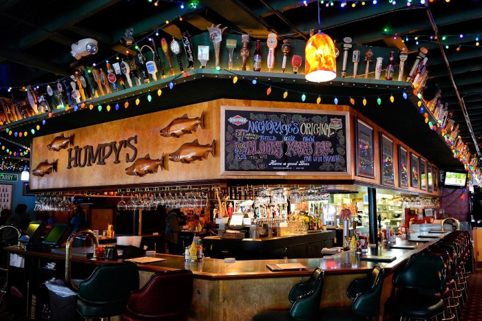 1.  Humpy's Great Alaskan Alehouse – Anchorage