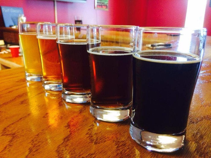 5. The city of Huntsville has AMAZING local breweries and...