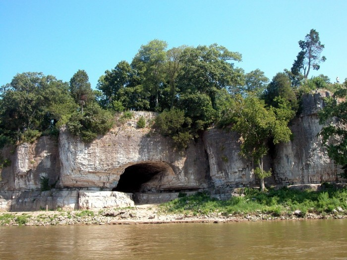 Illinois - Cave-In-Rock in Hardin County