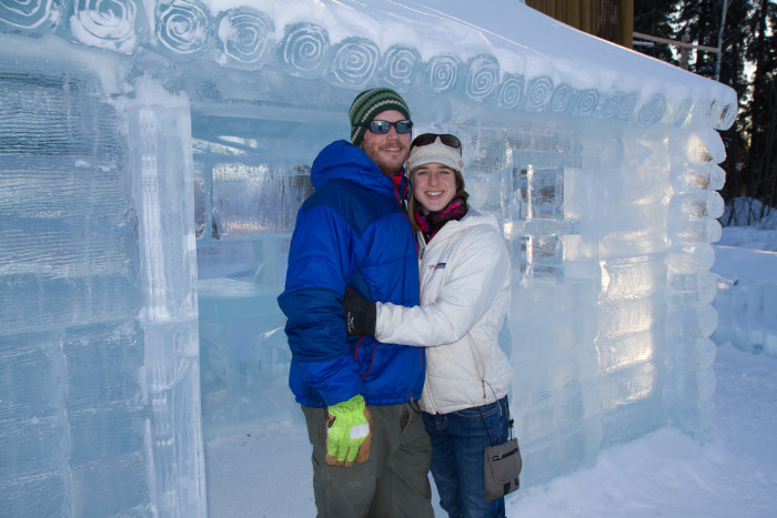 13. They treat you so well that you'd even consider living in an igloo if it made them happy.