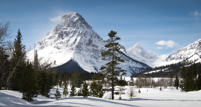 8. Rising Wolf Mountain in Winter