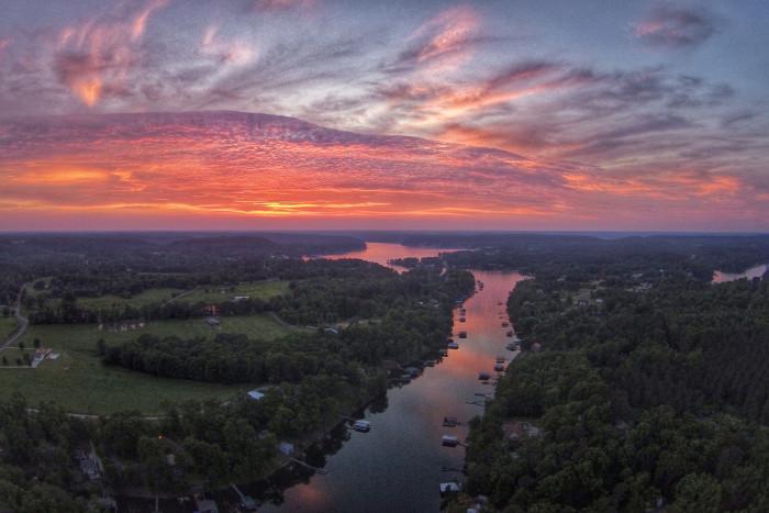 11) Smith Lake Sunsets