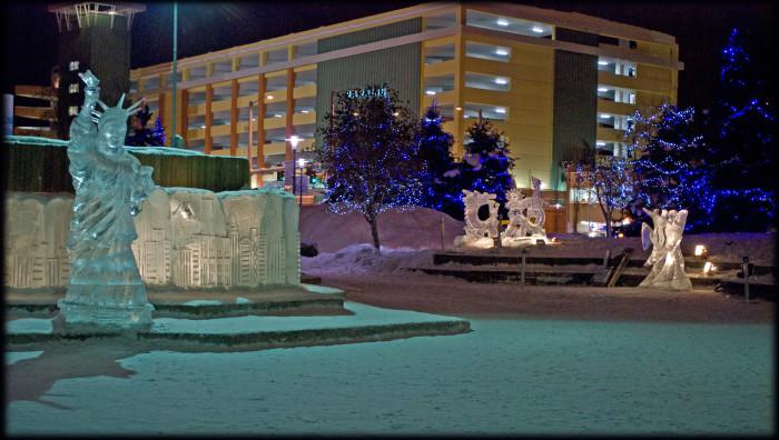 Ice Sculptures.