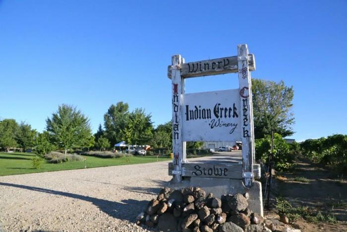 8. Indian Creek Winery, Caldwell