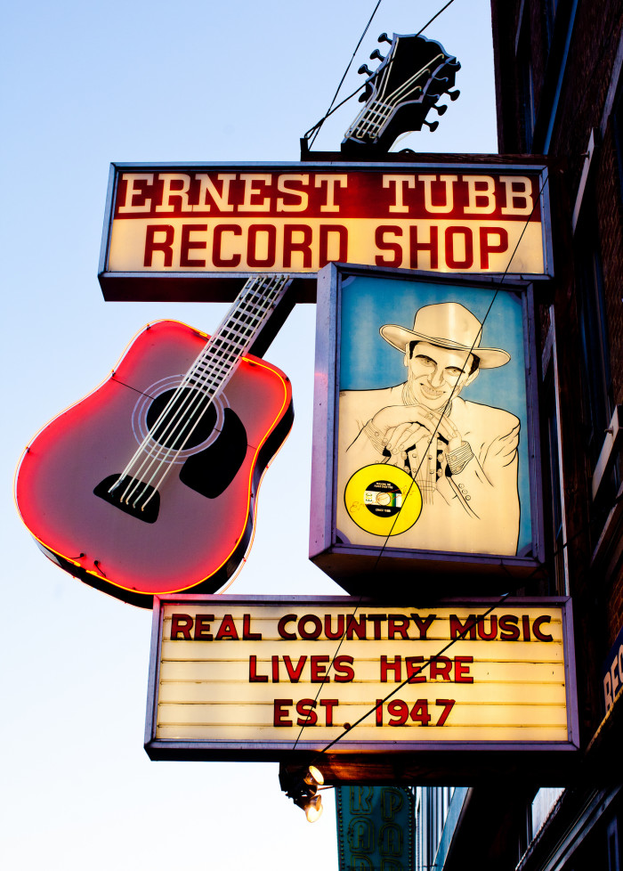 5) It's only country music, folks.