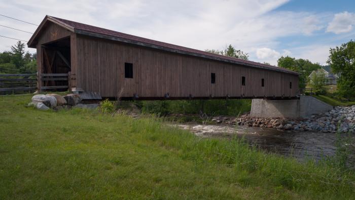 3. Jay Covered Bridge