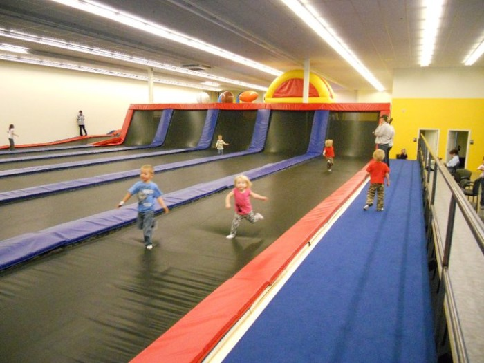 3. Bounce, dodge, tumble, and fly at a local trampoline park.