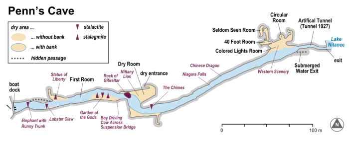 Karte_Map_Carte_Penns_Cave_en
