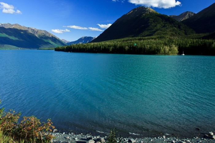 7. Kenai Lake - Cooper Landing